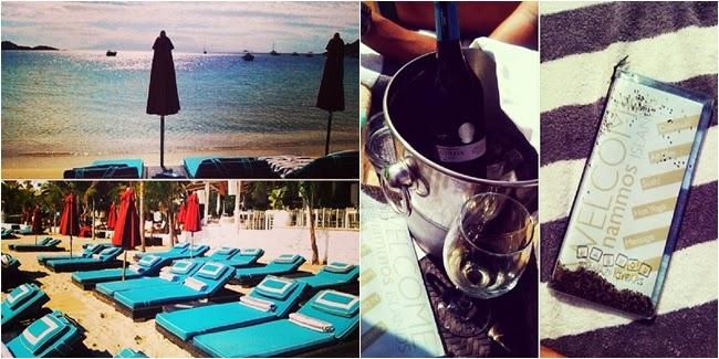 Nammos bar Psarou beach Mykonos