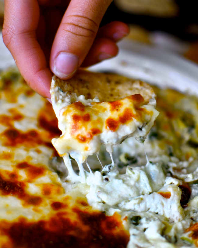 http://www.yammiesnoshery.com/2014/05/the-best-spinach-artichoke-dip-ever.html