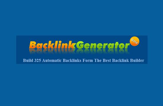 Backlink Generator Untuk Blog