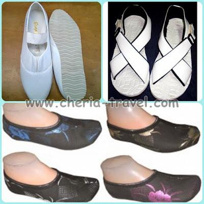 Sepatu Kats, Sandal Gunung, dan Kaos Kaki Haji