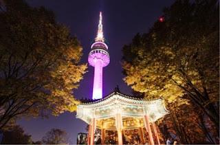 Tempat wisata korea selatan N Seoul Tower