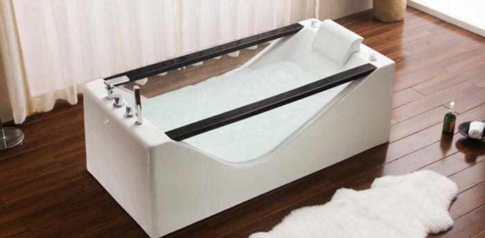 LATEST DESIGNED SINGLE PERSON JACUZZI BATHTUB SWG-2052 - teetotal - jacuzzi-bathtub.com