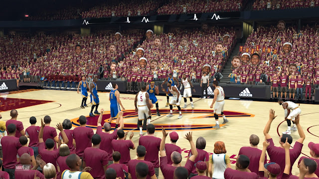 Cavaliers Warriors NBA Finals Simulation