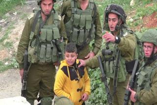 Bocah 8 Tahun Palestina Ditangkap dan Diseret Tentara Israel