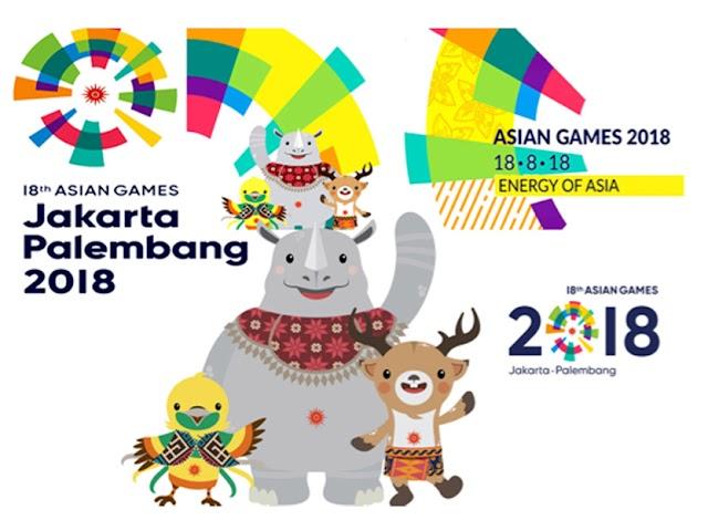 Inilah Cabang Olahraga yang Dipertandingkan di Asian Games 2018