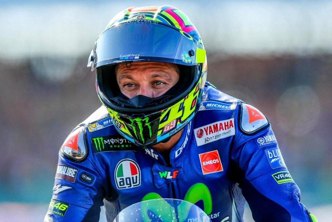MotoGP 2017 : Cidera dibagian kaki, Valentino Rossi tak akan turun balap di Misano