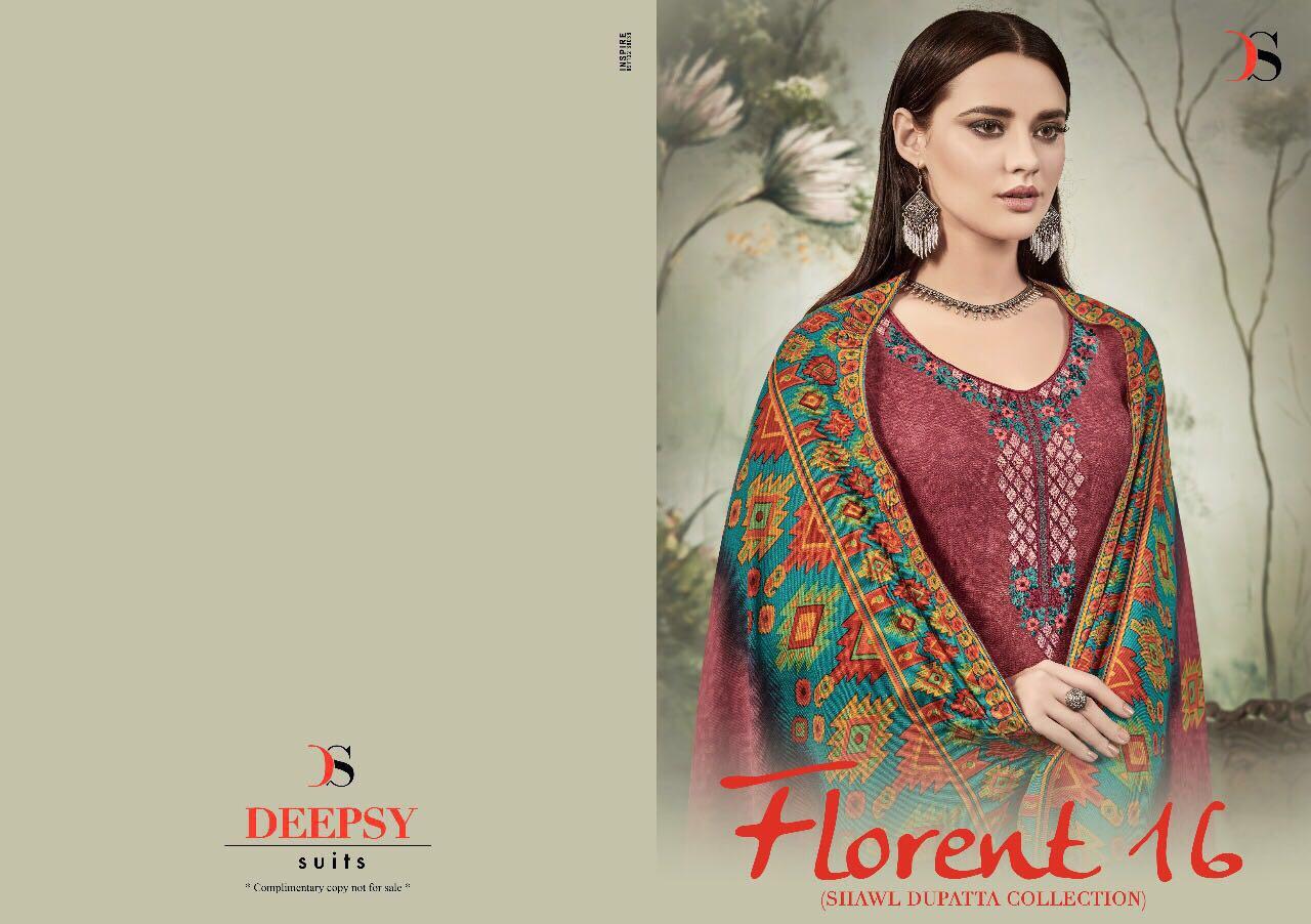 FLORENT 16-New Arrival Pashmina Dress Material
