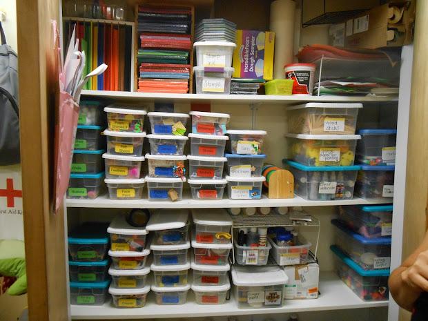 Office Supply Closet Organization Ideas
