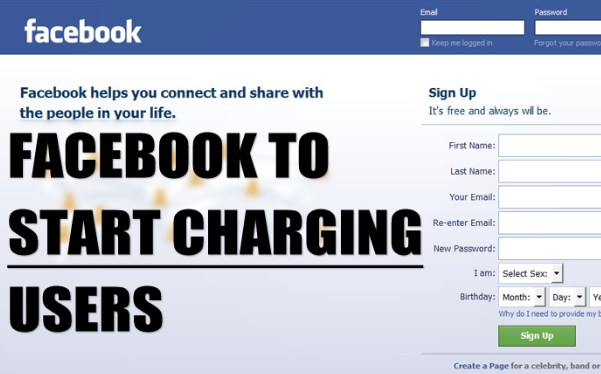are they going to start charging for facebook