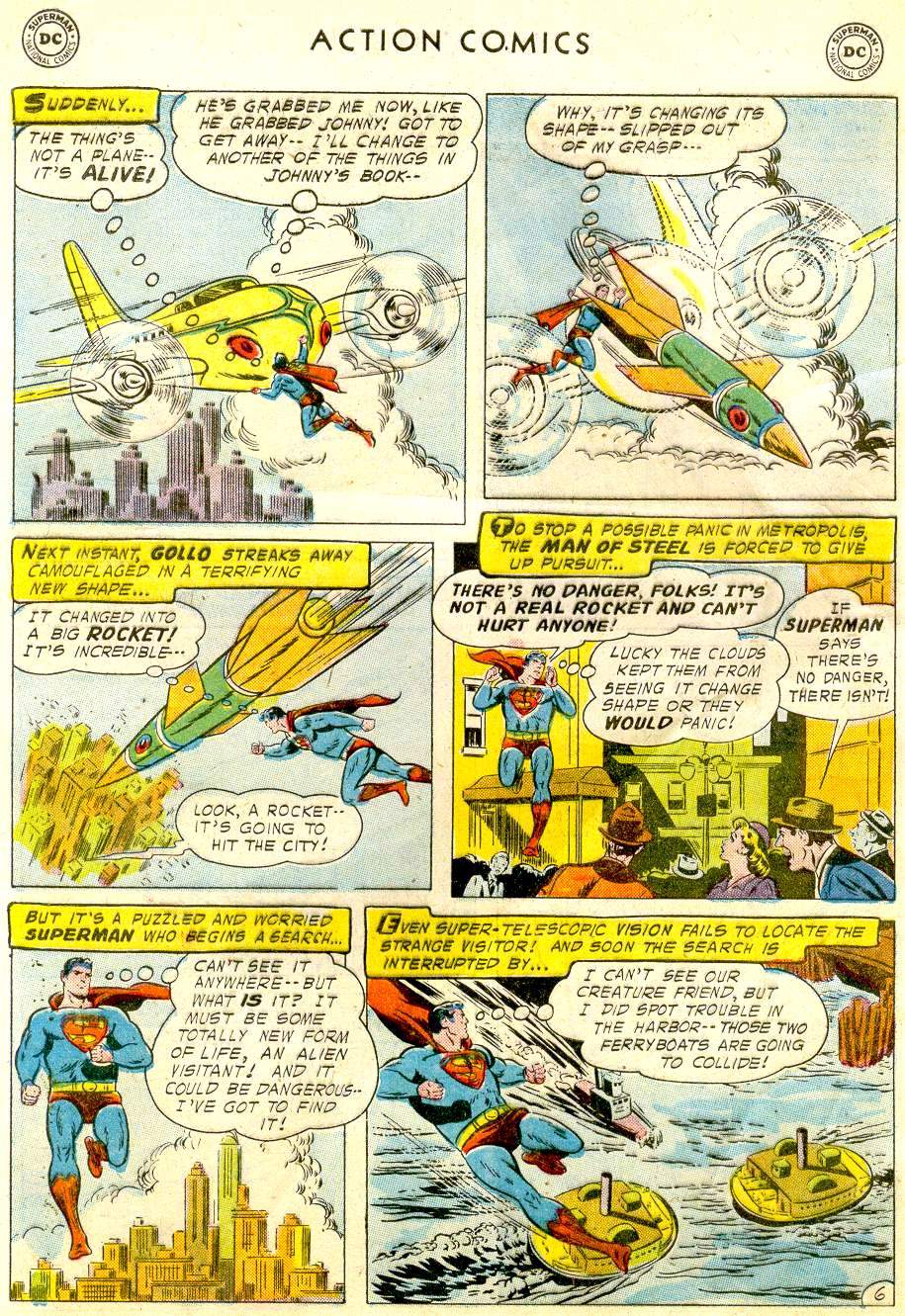 Read online Action Comics (1938) comic -  Issue #234 - 8