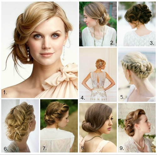 Hairstyle For Wedding Party Guest: Ibridal Gowns 2013 Show: Hairstyles With Headbands For