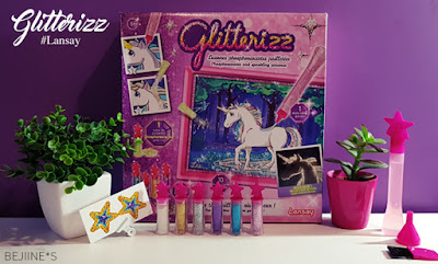 Lansay Glitterizz : Les licornes magiques