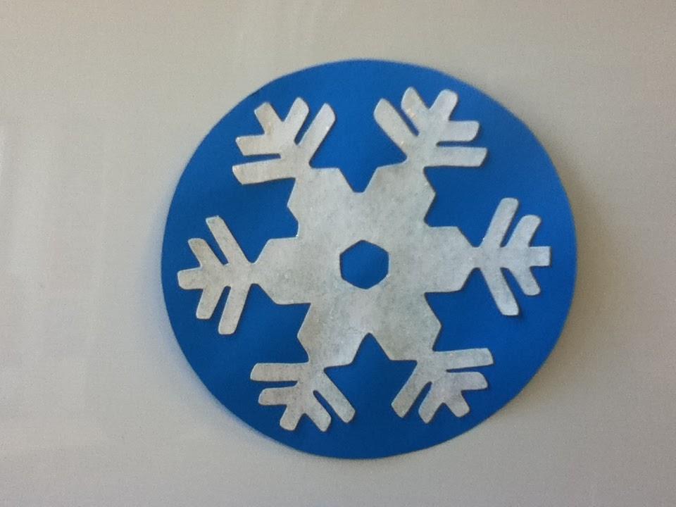 Storytime ABC's: Activity: Five Little Snowflakes