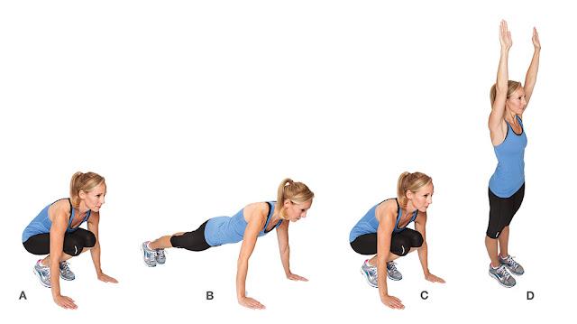 Exercicio de peso corporal