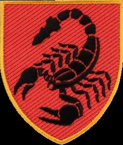 нарукавна емблема 19-ї ракетної бригади