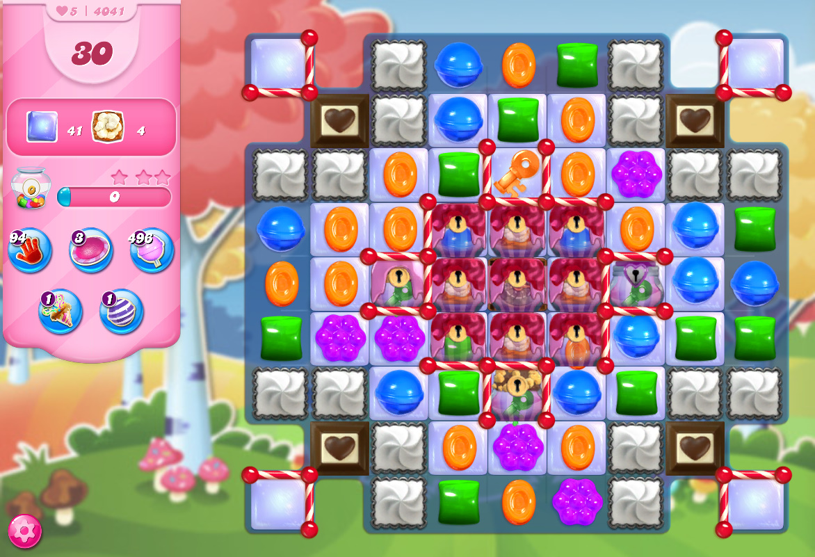 Candy Crush Saga level 4041
