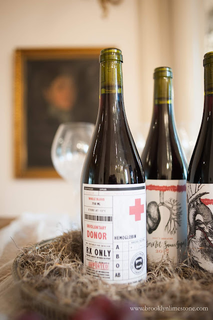 photo about Free Printable Wine Labels With Photo named Halloween Wine Labels Cost-free Printable Brooklyn Limestone