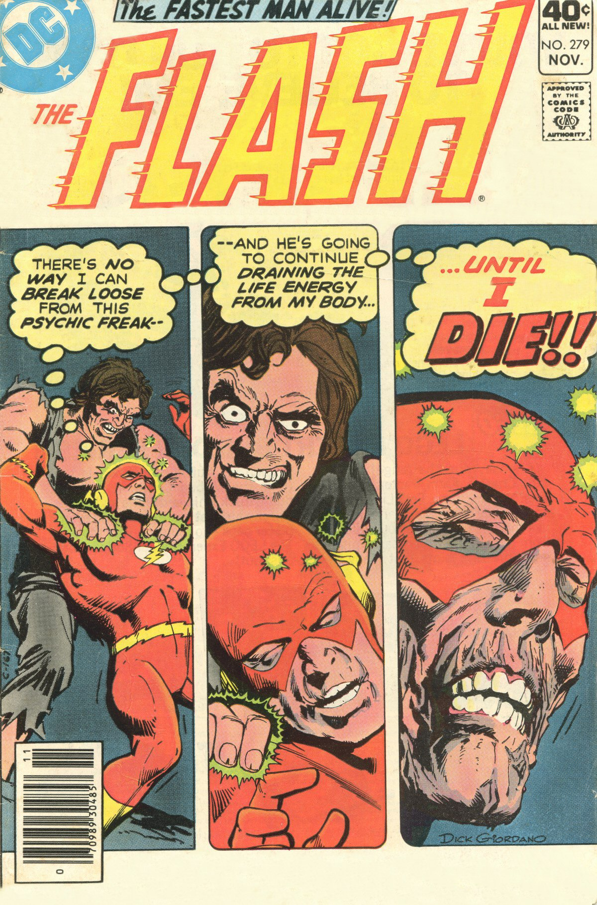 The Flash (1959) issue 279 - Page 1