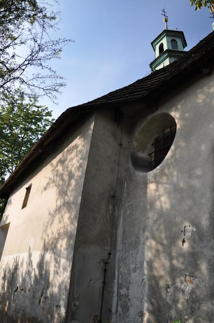 Romański kościół  pw. św. Benedykta na wzgórzu Lasoty w Krakowie