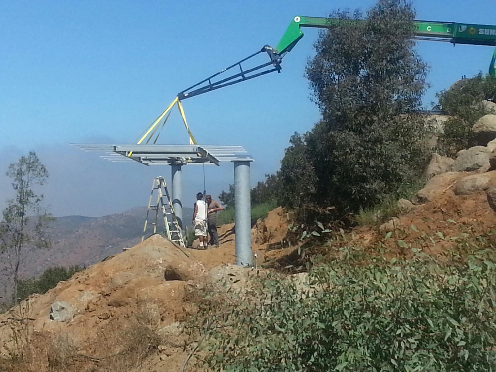 Casa 193 Guila Dual Axis Solar Tracker Installation