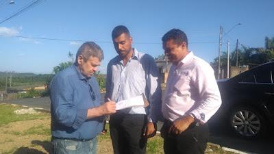 Thiago Clauter faz pedido ao Deputado José Américo, de um veículo de  transporte de pacientes para Sete Barras