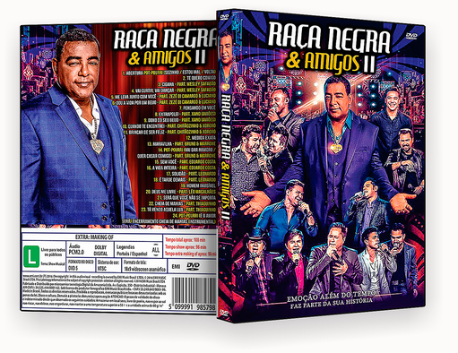 CAPA DVD – Raça Negra & Amigos Vol.II 2017 – ISO