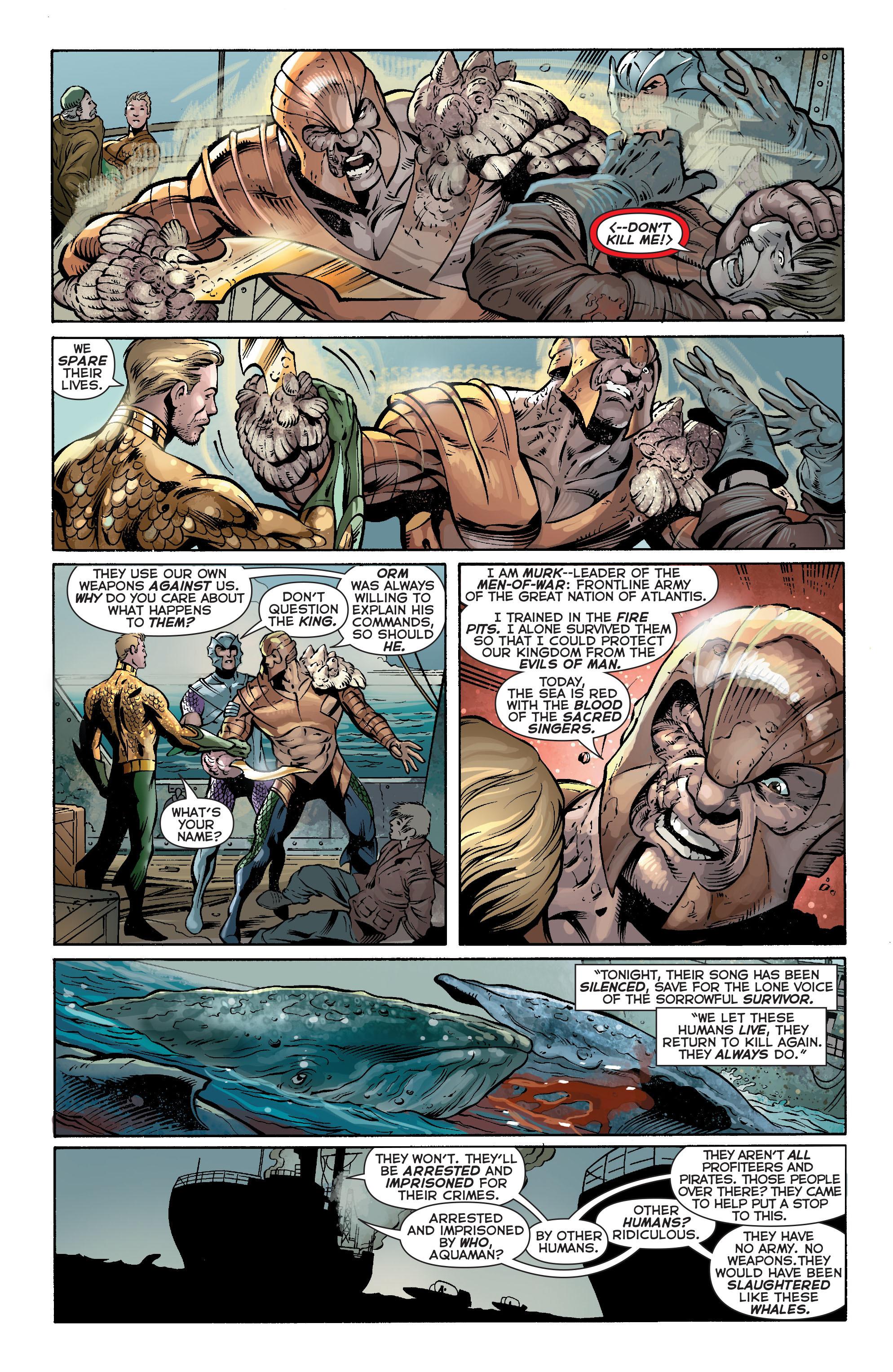 Read online Aquaman (2011) comic -  Issue #17 - 8