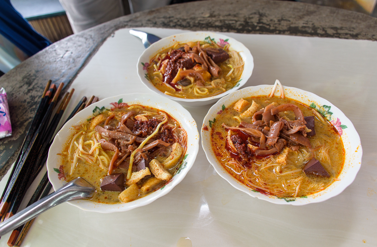 best curry noodles in penang malaysia where to eat in penang malaysia