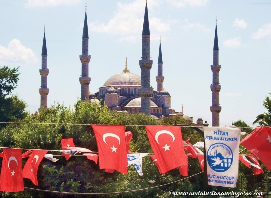 Istanbul_Andalusian auringossa_matkablogi