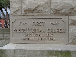 cornerstone at first presbyterian