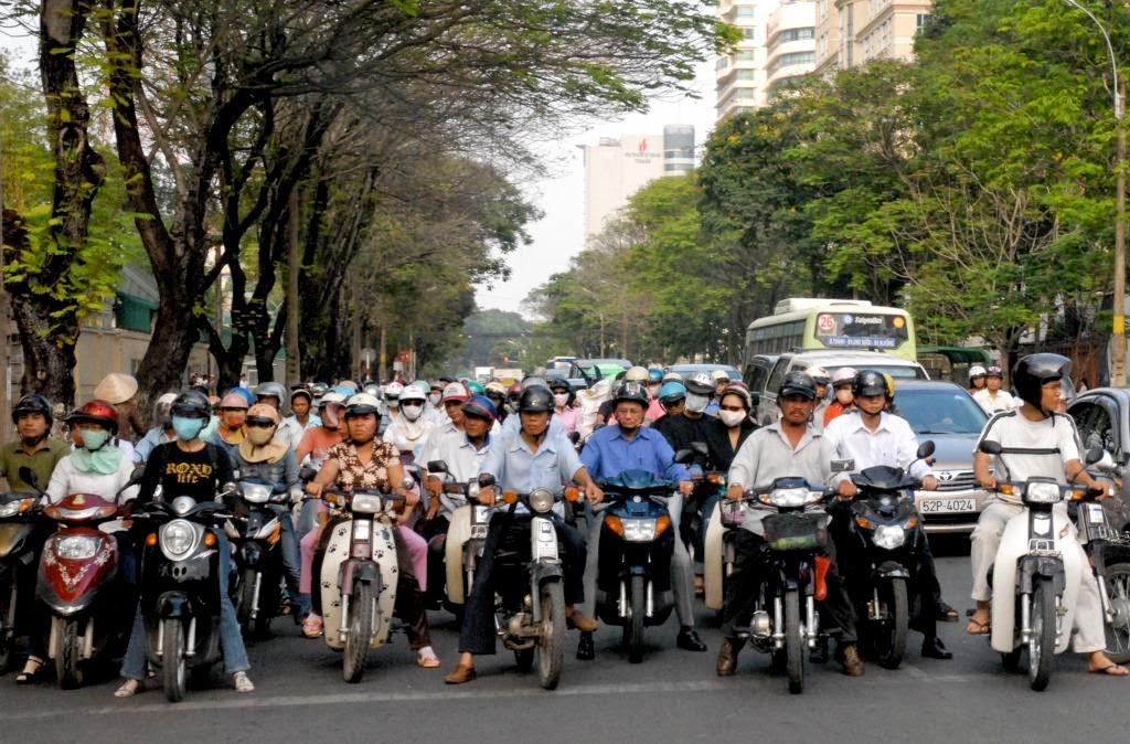 scooters vietnam,