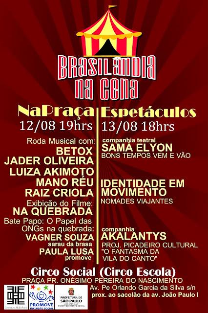 Brasilândia na Cena - O Circo é o Palco