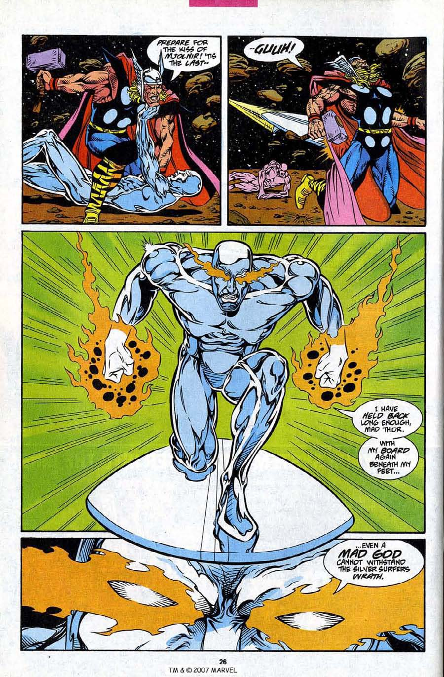 Read online Silver Surfer (1987) comic -  Issue #86 - 28