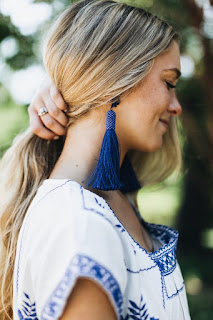 DIY: Модные серьги из ниток | Tassel Earrings