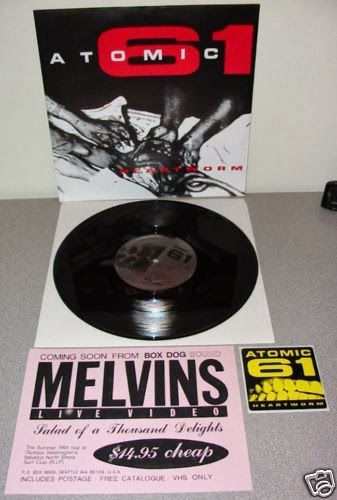 Enemy Lines Atomic 61 Heartworm 10 Quot Ep 1991 Box Dog