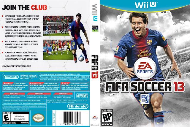 Capa Fifa Soccer 13 Wii U