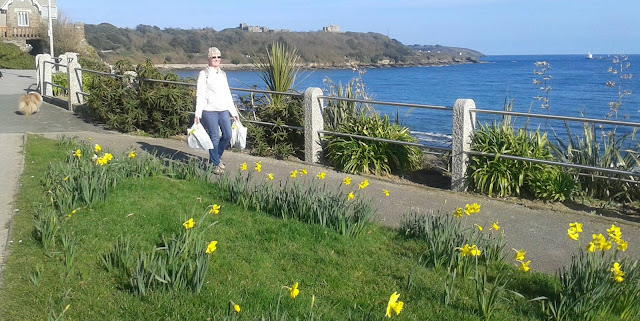 The promenade, Falmouth, Cornwall