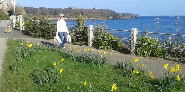 The promenade, Falmouth, Cornwall