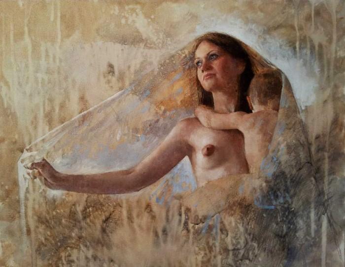 Балканский художник. Ljubo Popadic 3