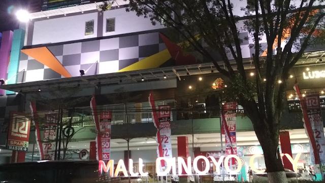 Cara Pesan dan Naik Gojek Grab di Mall Dinoyo Malang yang Aman
