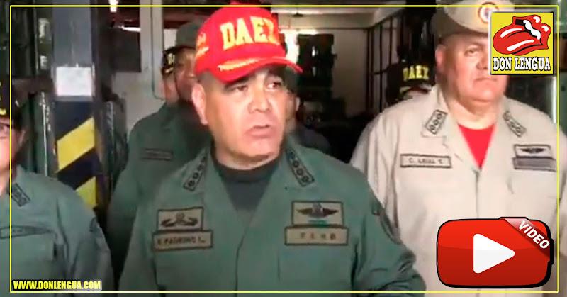 Padrino López avisa que tiene suficientes armas para asesinar a todos los opositores