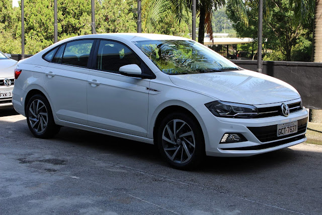 VW Virtus Highline: R$ 12.300 reais mais barato que o C4 Lounge Shine