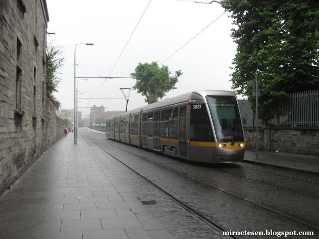 дублинский трамвай