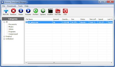 تحميل برنامج شبية الداونلود مانجر بديل مجانى بدون تسجيل 2015 Xtreme Download Manager