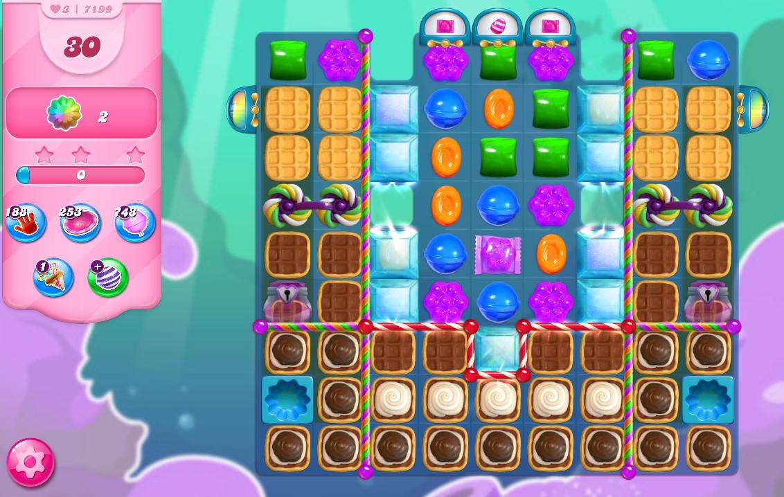 Candy Crush Saga level 7199