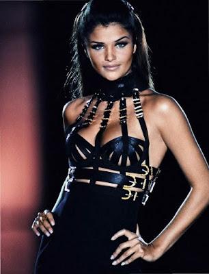 Versace 1992 Miss SM bondage helena christensen