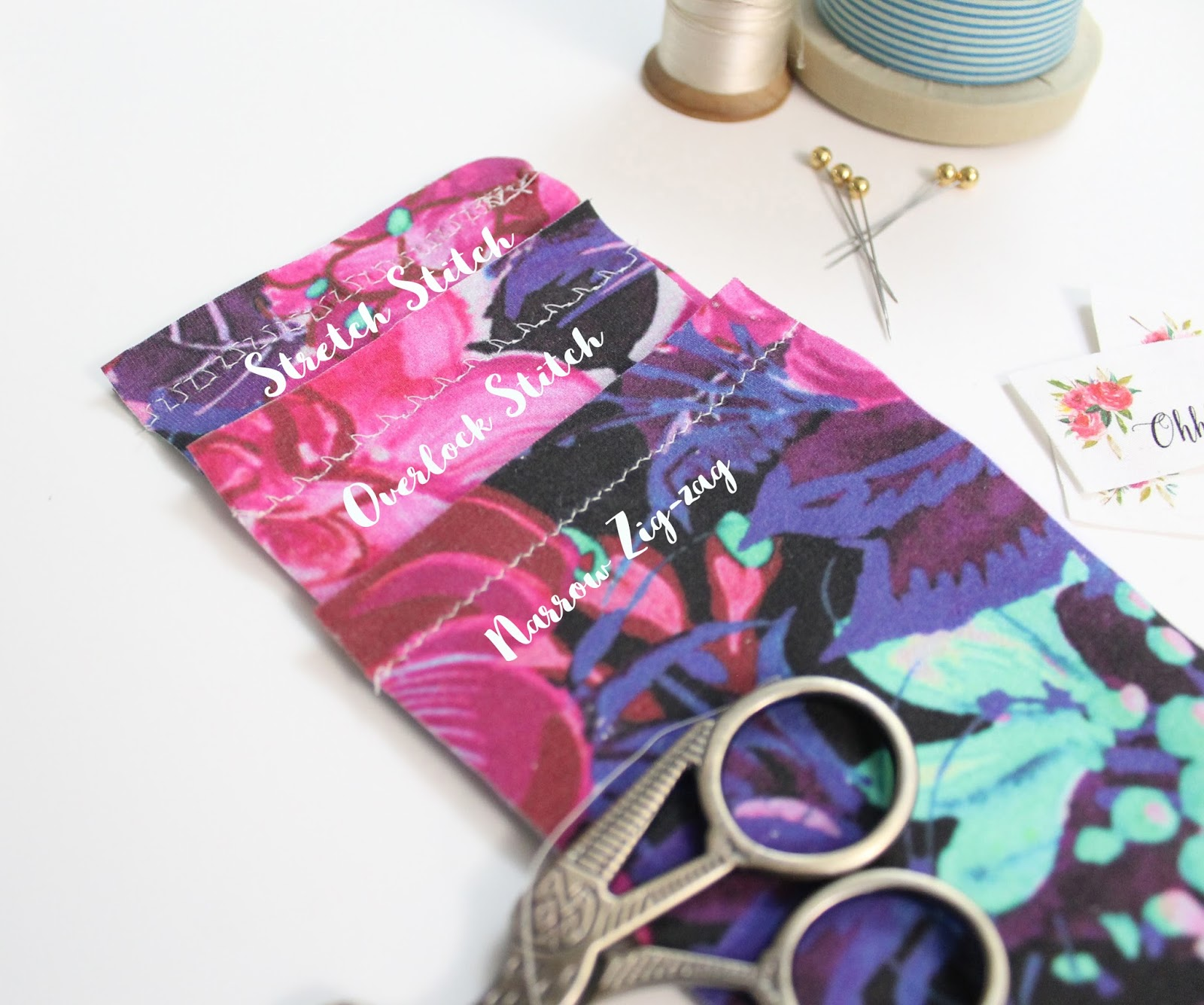 How to sew knit fabric without using a serger  – Ohhh Lulu