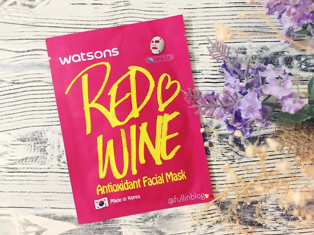 watsons kırmızı şarap maskesi