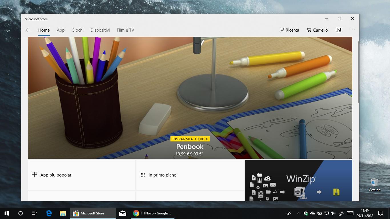 Carrello-Microsoft-Store