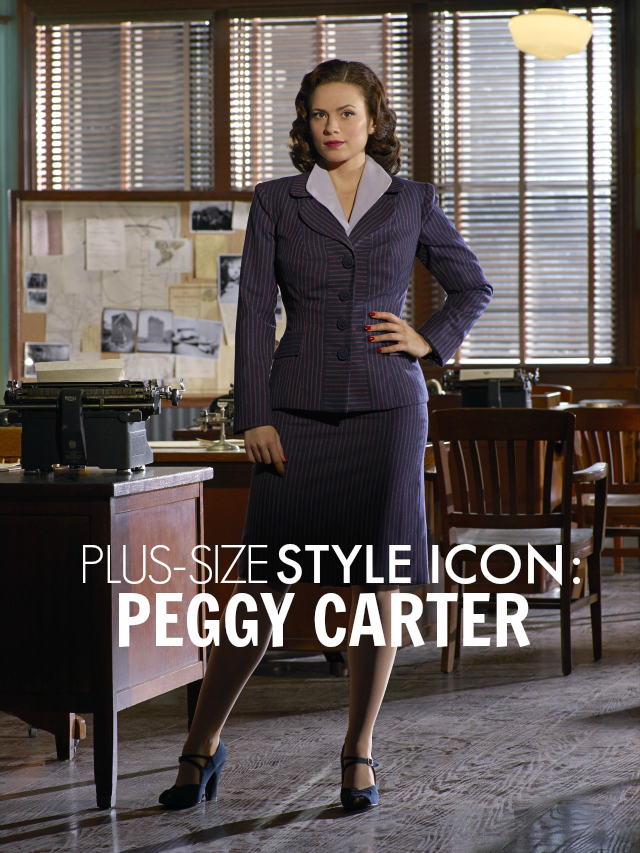 Plus Size Style Icon Peggy Carter The Militant Baker